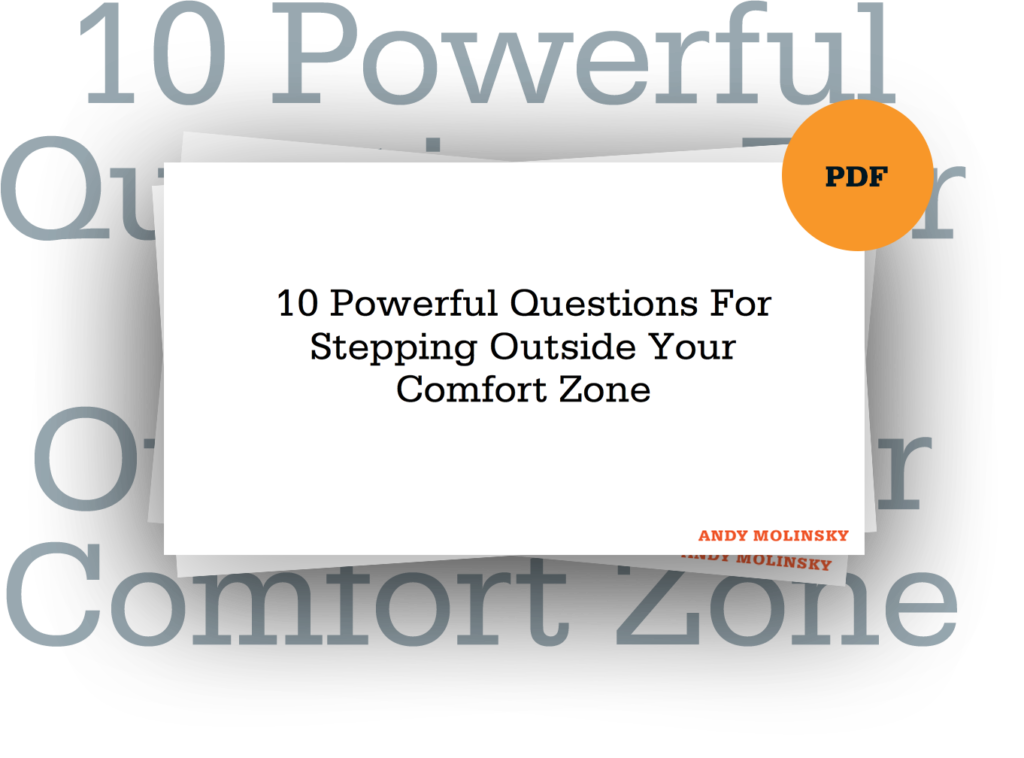 10 Powerful Questions For Stepping Outside Your Comfort Zone