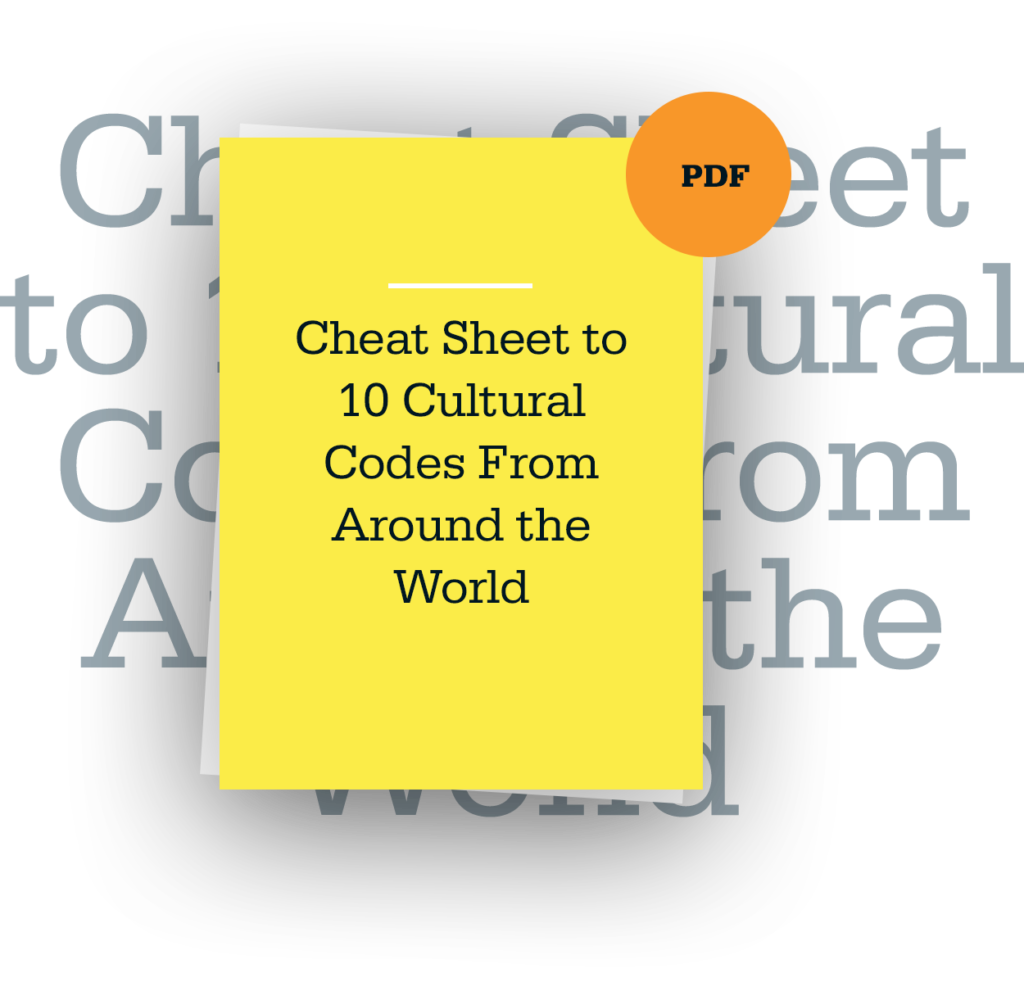 10 Cultural Codes From Around the World Cheat Sheet